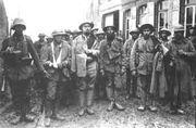 Prisioneiros ingleses portugueses 09 04 1918