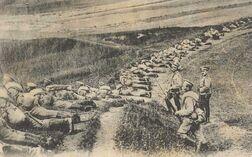 Русские войска под Кенигсбергом