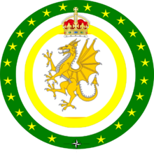 Welsh Combined Services Badge