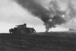 Pz.Kpfw. IV during the Battle of Horovice 1938