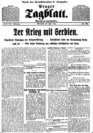800px-PragerTagblatt-19140729-Morgenausgabe