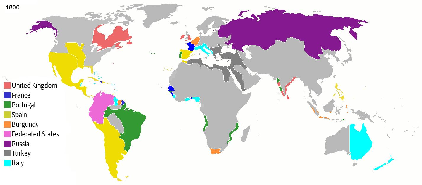 Maps Pax Columbia Alternative History