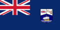 Honduras Británica bandera