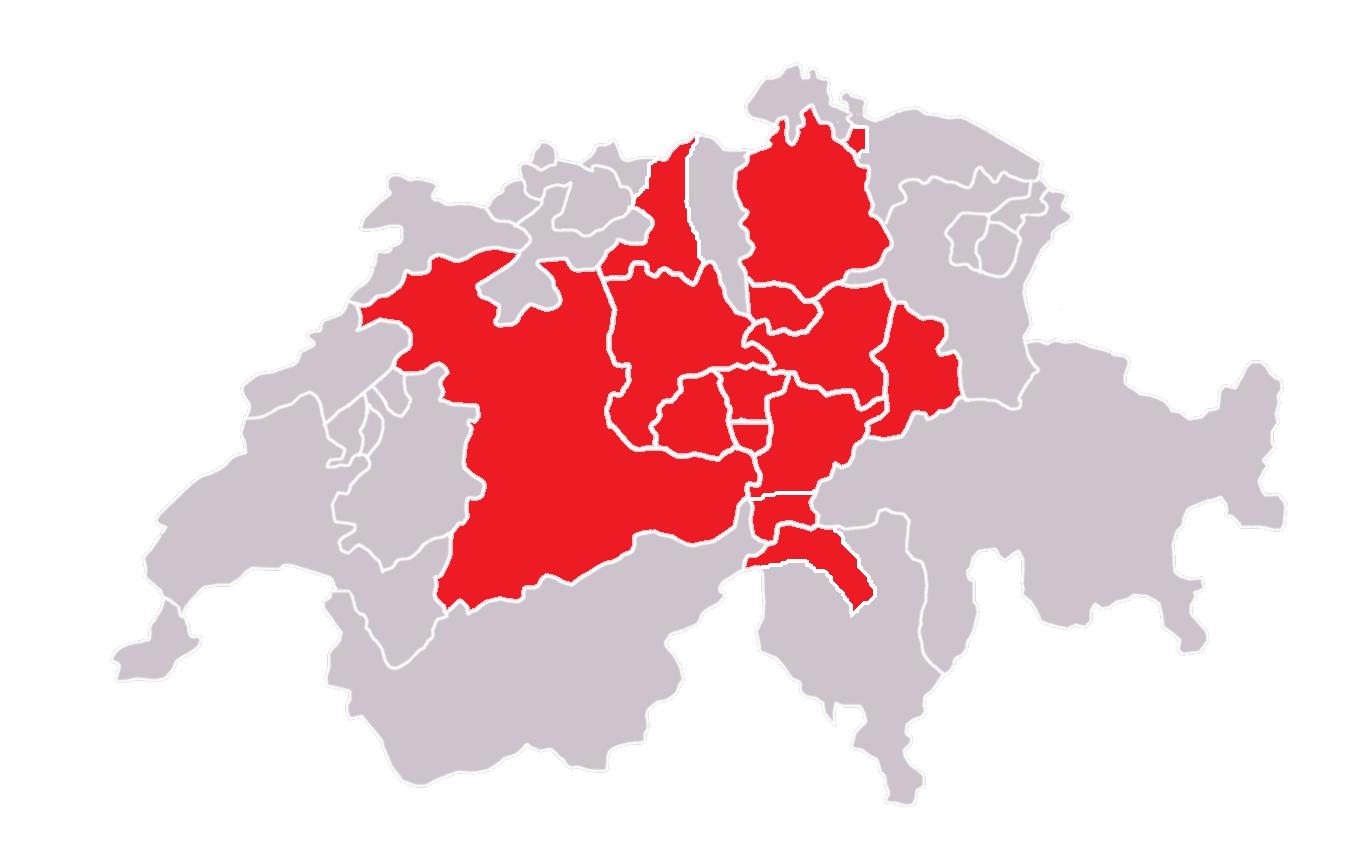 Swiss Confederacy Principia Moderni III Map Game Alternative
