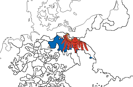 Brandenburg w. Flag (the Kalmar Union)
