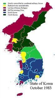 Korean landscape post DoomsDay