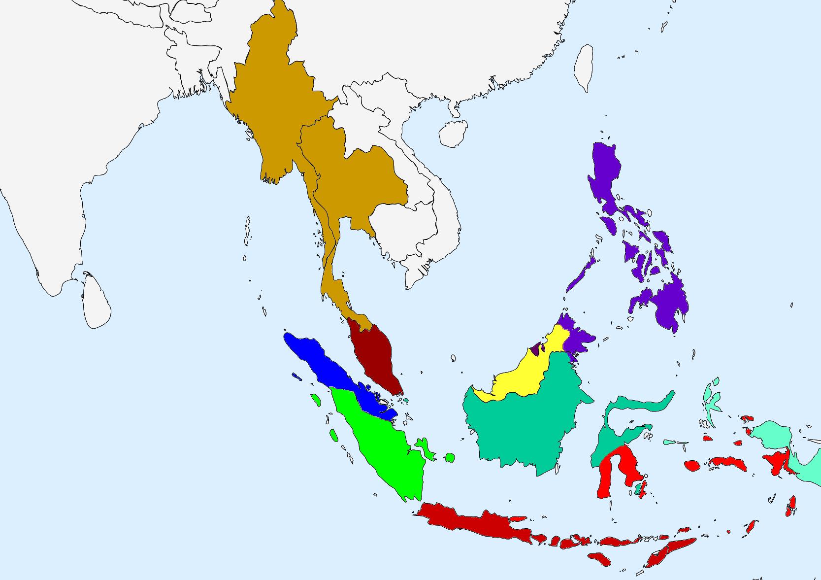 Land of empires map game alternative history fandom powered by indonesian civil war map seasia1000base altavistaventures Gallery