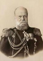 Александр III в старости