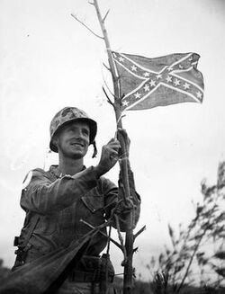 Confederate soldier in St. Louis