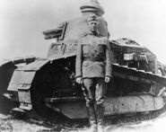 LtColGeorge S. Patton - France - 1918