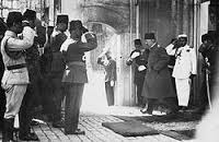 Мехмед VI покидает Анкару