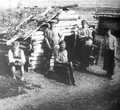 Русские переселенцы на севере Казахстана