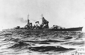Japanese cruiser Haguro