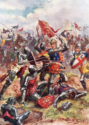 King Henry V at the Battle of Agincourt.jpg