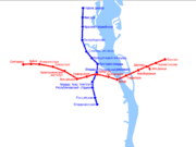 Карта Киевского метрополитена (МРГ)