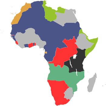 Раздел Африки