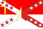 Elsass-Lothringen Fahne