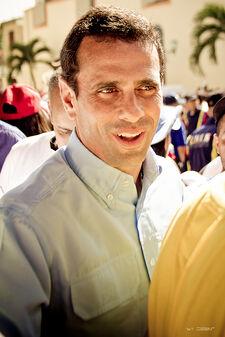 Henrique Capriles en Lara, Venezuela
