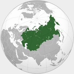 Mapa Rusia (SPH)