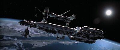 Межпланетный корабль