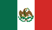 Флаг Мексиканской Республики