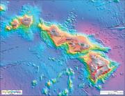 776px-Bathymetry image of the Hawaiian archipelago