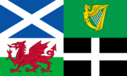 Celtic British Flag
