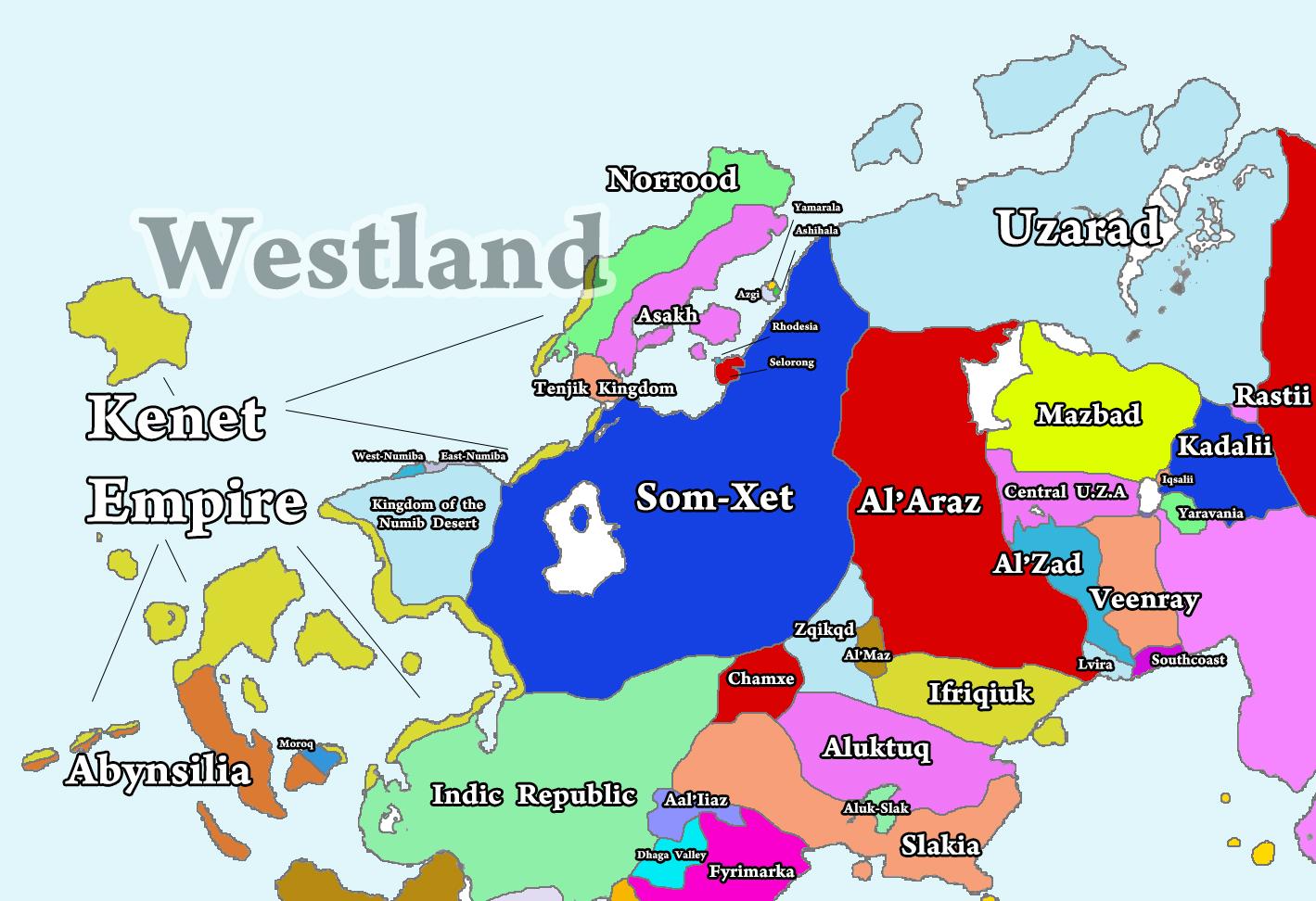 Image - Map Westland.jpg | Alternative History | FANDOM powered by Wikia