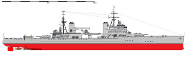Pacific heavy cruiser