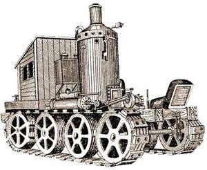 Трактор Блинова