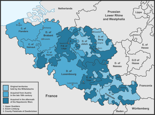 Königreich Burgund 1836