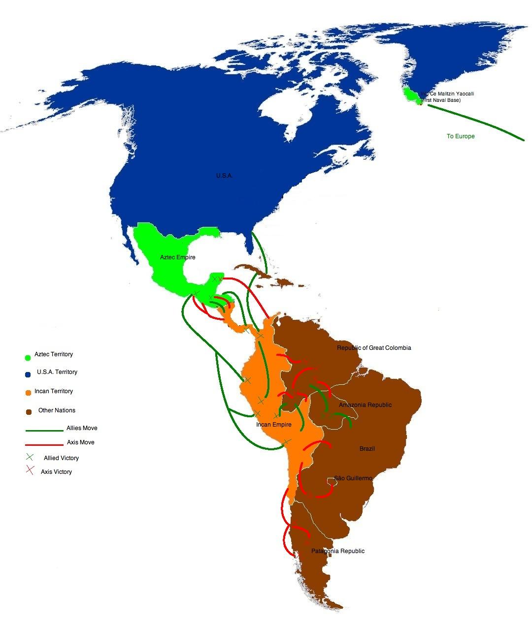 Image   WWII aztec america.   Alternative History   FANDOM