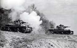LT vz. 35s during the Battle of Horovice 1938 (WFAC)