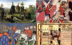 Mongol War Collage