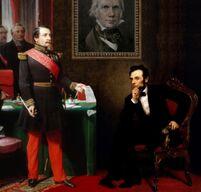 Napoleon3beiLincoln1866