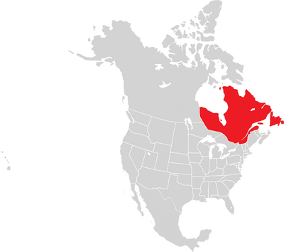 Napoleons world Canada Map