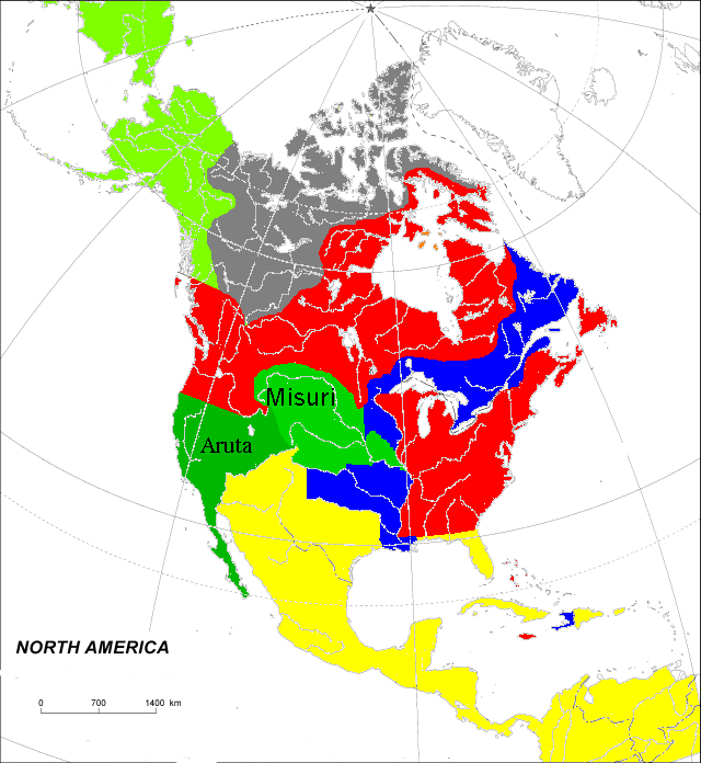 North America 1800 (Toyotomi) | Alternative History | FANDOM
