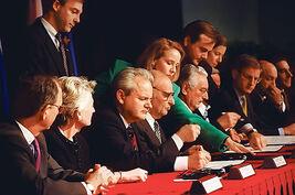 Мирные переговоры по Боснии