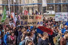 Anti AfD Proteste