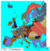 Europe colored-labeled TONK