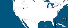 Location of the USA (Alternative 2014)