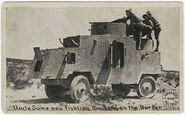 Mexican Revolution Jeffery Number one Armoured Car