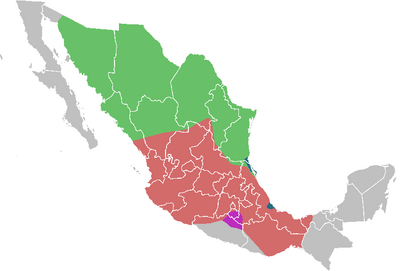 Mexico-1914-Map-One