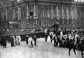Войска в Петербурге