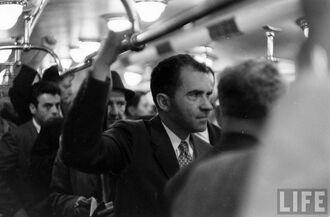 Никсон в метро
