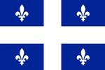 Flagge Quebec