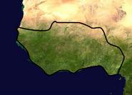 Location of Benin Empire (Climate-Area)