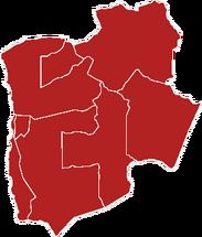 Mapa de la Región de Tarapacá