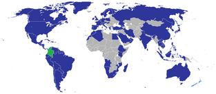 Misiones diplomáticas colombianas (No Revolución)