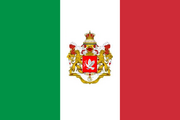 Flag of Italy1857